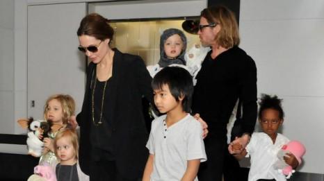 Анжелина Джоли отпраздновала День Рождение в кругу семьи