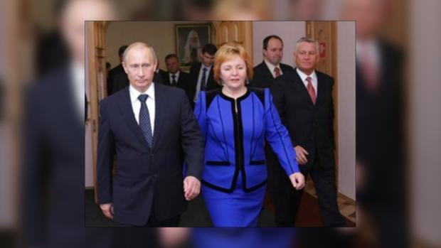 Президентская чета Путиных собирается разводиться