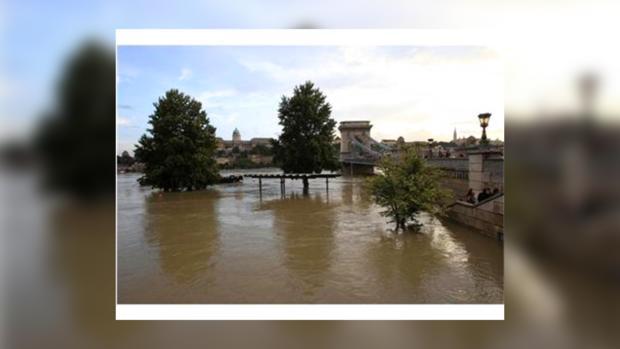 Река Эльба вышла из берегов