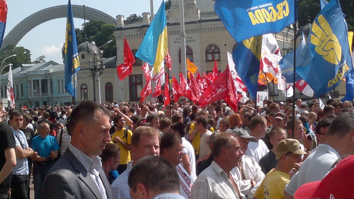 Украинцы теряют терпение