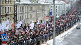 Во время демонстрации столкновений с милицией не было.