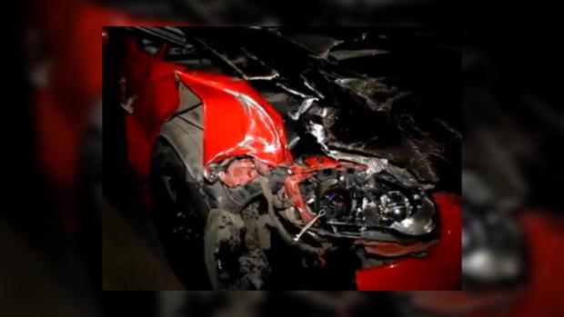 Авто сбившее пешехода в ночь с 13 на 14 июня, Гидропарк