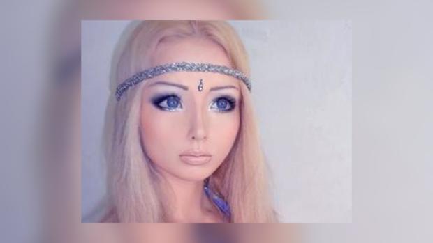 """Девушка показала """"настоящее лицо""""."""