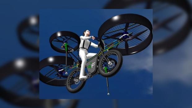 Велосипед ы теперь летают.
