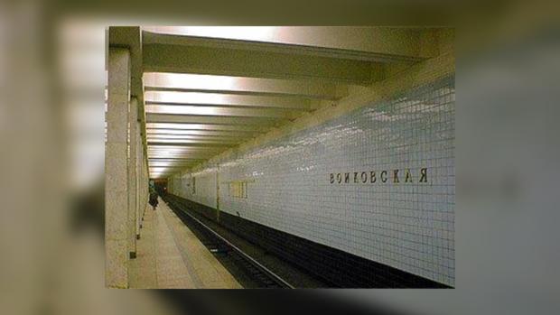 Самоубийца бросился под поезд метро в Москве