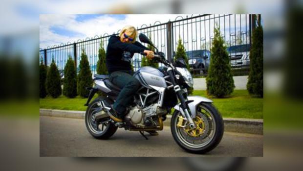 Олег Скрипка – опытный байкер