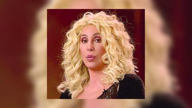 Шер сняла и выбросила парик со сцены.
