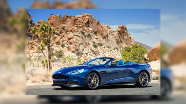 Шикарный Vanquish Volante от Aston Martin