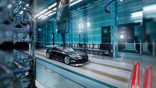 Теперь LFA GTE можно увидеть в сети.