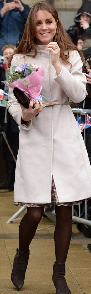 Кэтрин Миддлтон в пальто от Max Mara