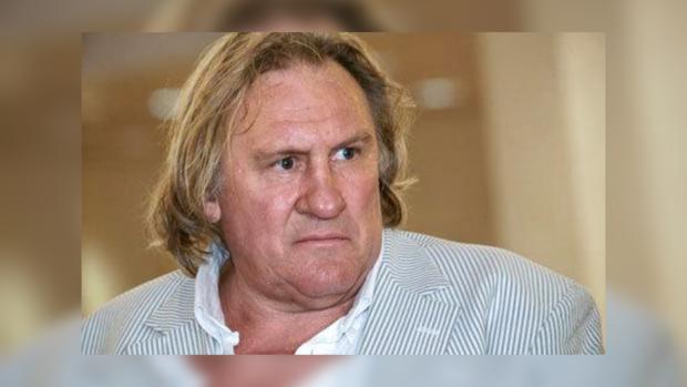 Жерар Депардье не пострадал во время аварии в Москве