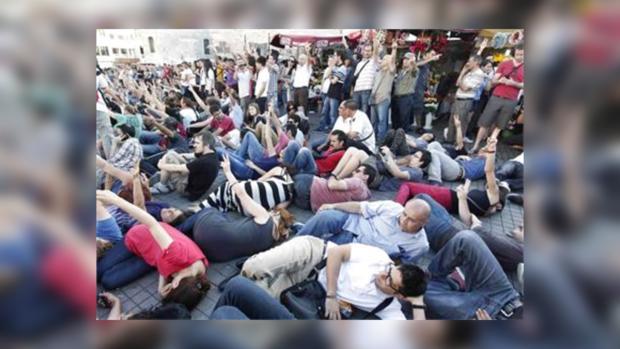 В Стамбуле прошла мирная демонстрация