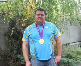 Житель Кременчуга стал лучшим на чемпионате мира по толканию ядра