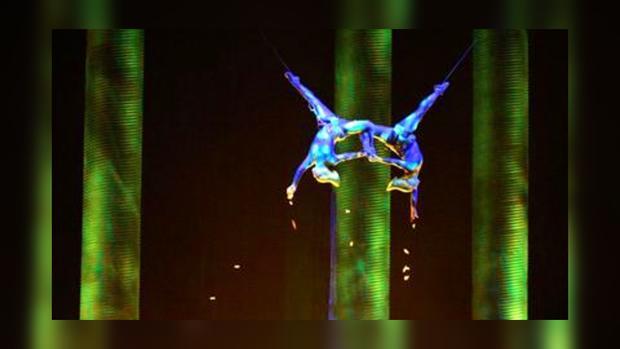 Акробатка разбилась на спектакле Сirque du Soleil