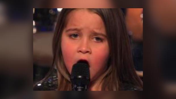 Девочка напугала жюри.