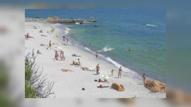 Одесские пляжи закрыты из-за сильных дождей