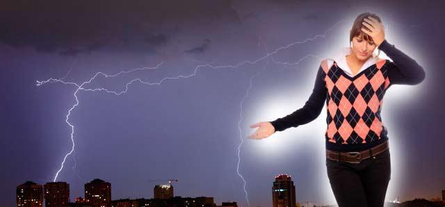 Магнитные бури влияют на самочувствие.