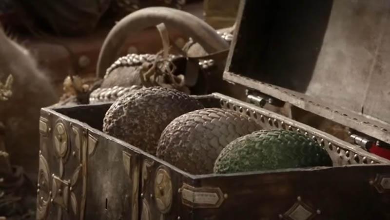Драконьи яйца из Игры престолов
