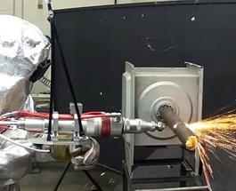 Британская компания TWI представила сверхмощный ручной лазер