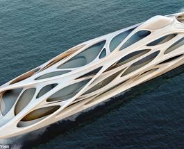 Суперяхты будущего: презентован корабль со скелетной структурой, мечта миллиардера