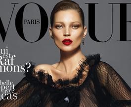 """Модель Кейт Мосс стала редактором модного британского журнала """"Vogue"""""""