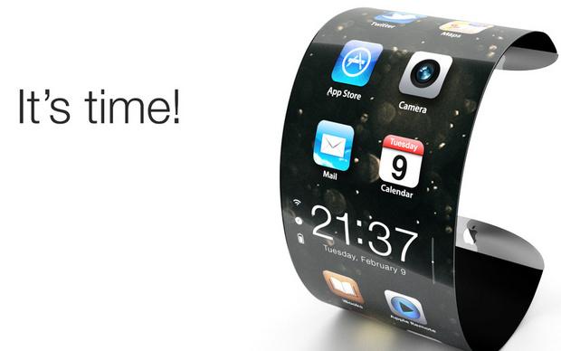 """""""Умные"""" часы-браслет от Apple"""
