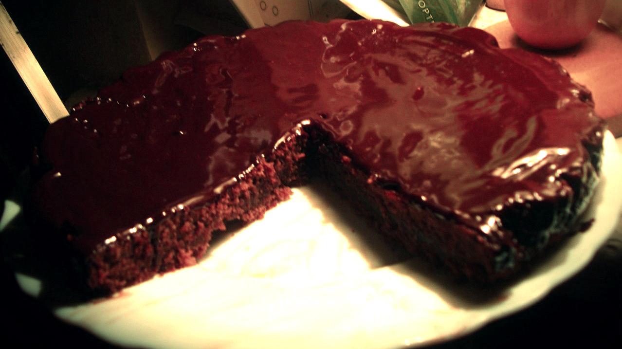 Рецепт шоколадного торта с кока-колой