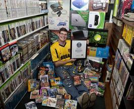 Книга рекордов Гиннесса зарегистрировала самую большую коллекцию видеоигр