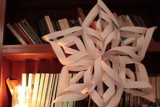 Как сделать объемные бумажные снежинки на Новый Год