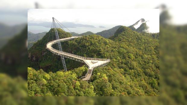 Самые страшные мосты мира: Небесный мост Лангкави