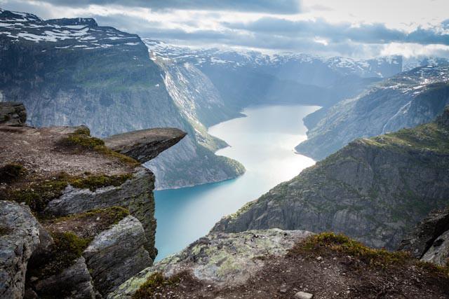 Троллтунга: самое страшное место Норвегии –