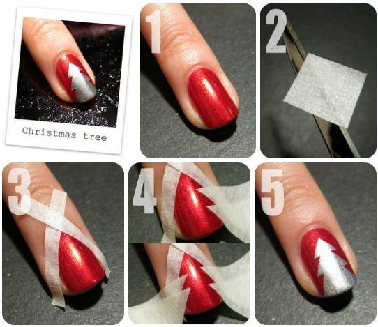Как накрасить ногти своими руками в домашних условиях 643