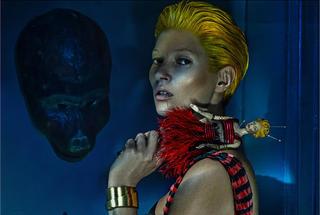 Модель Кейт Мосс снялась в своей первой рекламной кампании для Alexander McQueen
