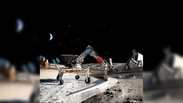 Картинки по запросу жилье в космосе луна