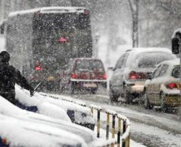 В Украине закрыты дороги из-за снегопадов - полный список