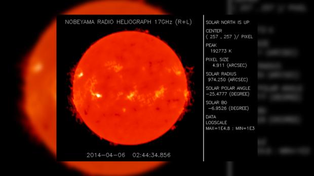 Снимок Солнца за 6 апреля 2014 года не предвещает неприятностей на сегодня