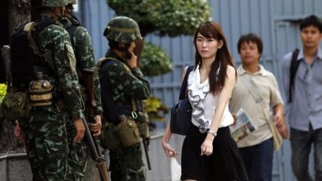 Военное положение введено в таиланде