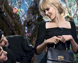 Супермодель Клаудия Шиффер снялась для бренда Dolce & Gabbana