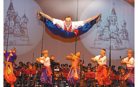 Ансамблю песни и пляски Минобороны России