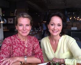 Мария Кончаловская идет на поправку, а Юлия Высоцкая принимает гостей в новом ресторане