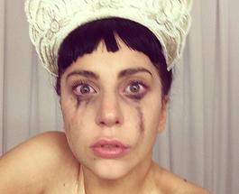 Леди Гага повыкладывала ужасающие селфи