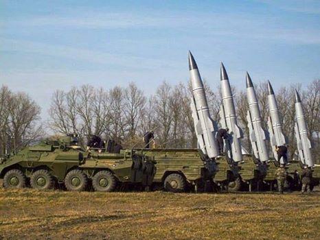 """Ситуация в Донецке: войска готовятся запустить высокоточные ракеты """"Точка""""."""