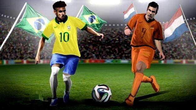 Прогноз Футбол Бразилия Нидерланды