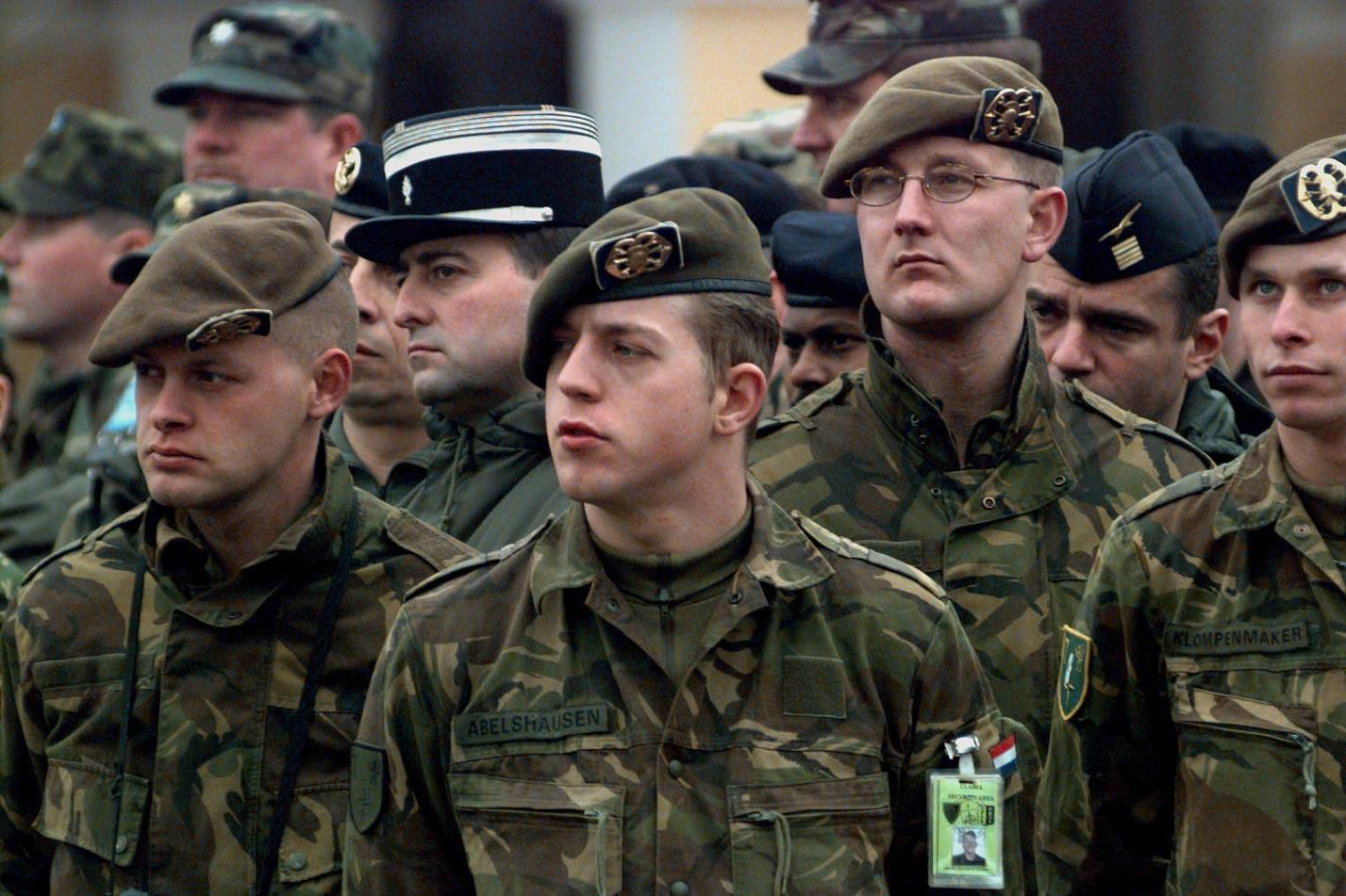 Нидерландские военные готовы отправиться на Донбасс.