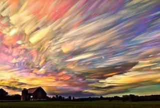 Красивые фотографии: восхитительные облака