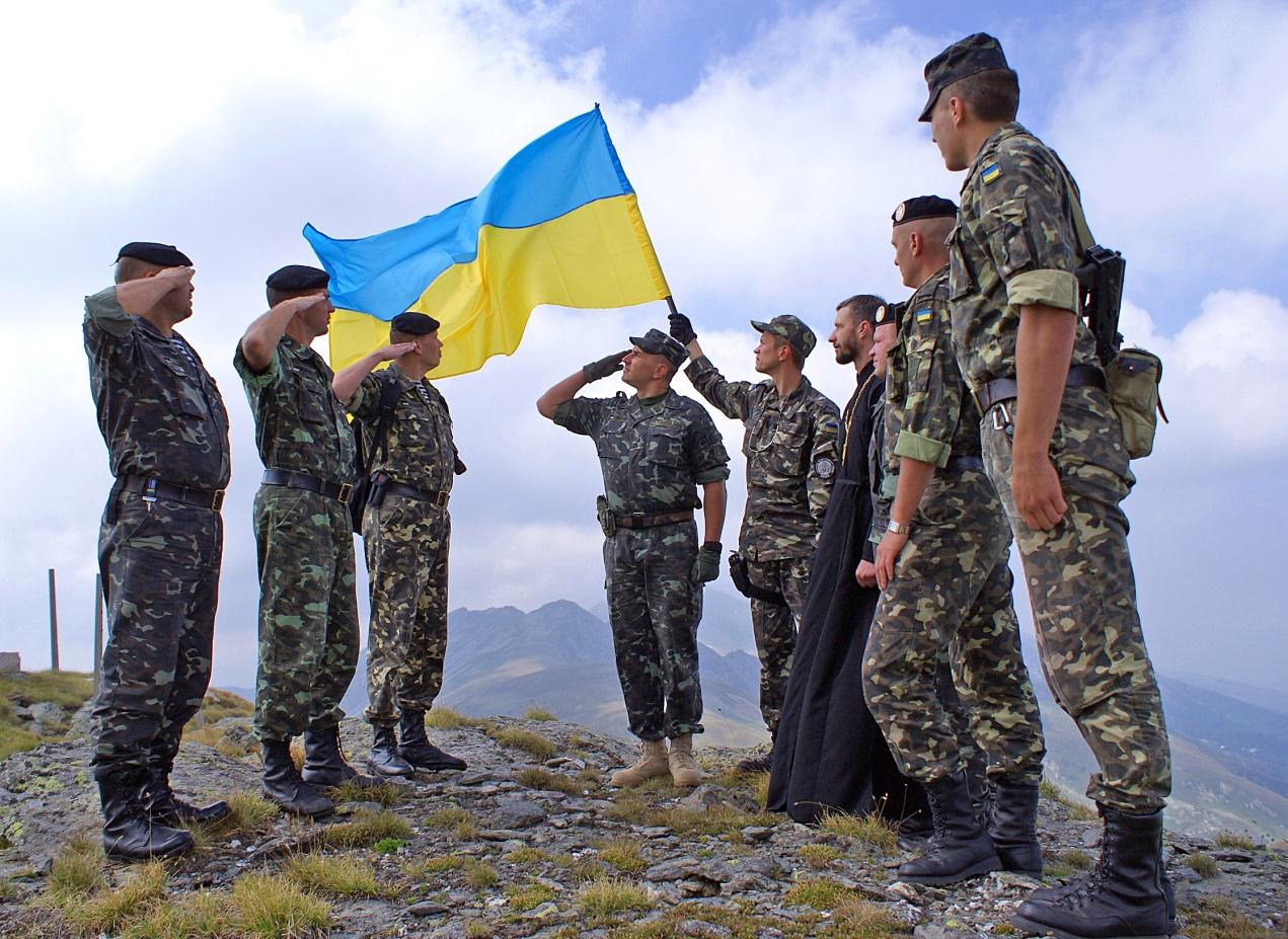 Украинские военные высказались о смене приветствия на «Слава Украине!»
