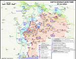 Карта АТО за выходные 20-21 сентября: боевики атакуют на всех направлениях