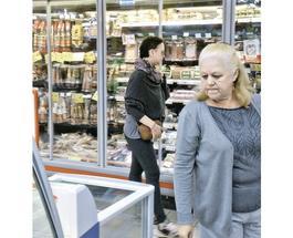 Жанна Фриске сама делает покупки
