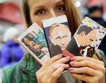 Президент Путин украсил собой российский шоколад