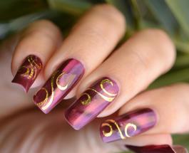 Рисунки на ногтях: интересные идеи для начинающих